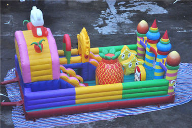 Giant Inflatable Toddler Playground Cheer Amusement Animal Theme CE-certificated